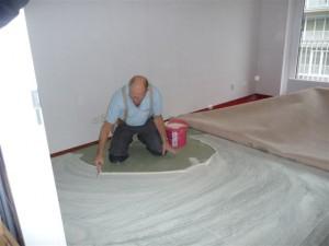 Koja woningstoffeerbedrijf - tapijt vloer leggen